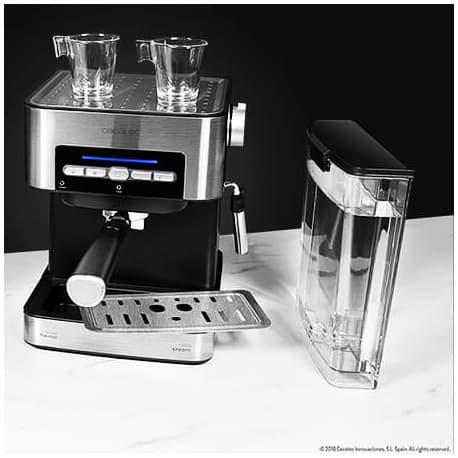 Linmpieza de la cafetera Express Power Espresso 20 Matic
